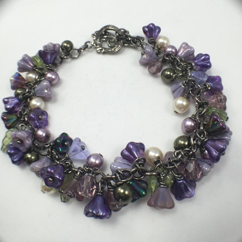Rondel Crystal AB Aurora Borealis Bead Fits All Bead Bracelets